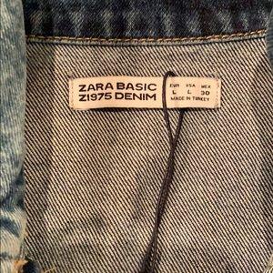 Zara Jackets & Coats - The Most Beautiful Wash. Zara. Size L. Neverworn.